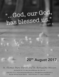 2017 August 20th Bulletin