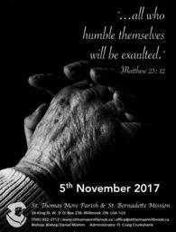 2017 Nov 5 Bulletin